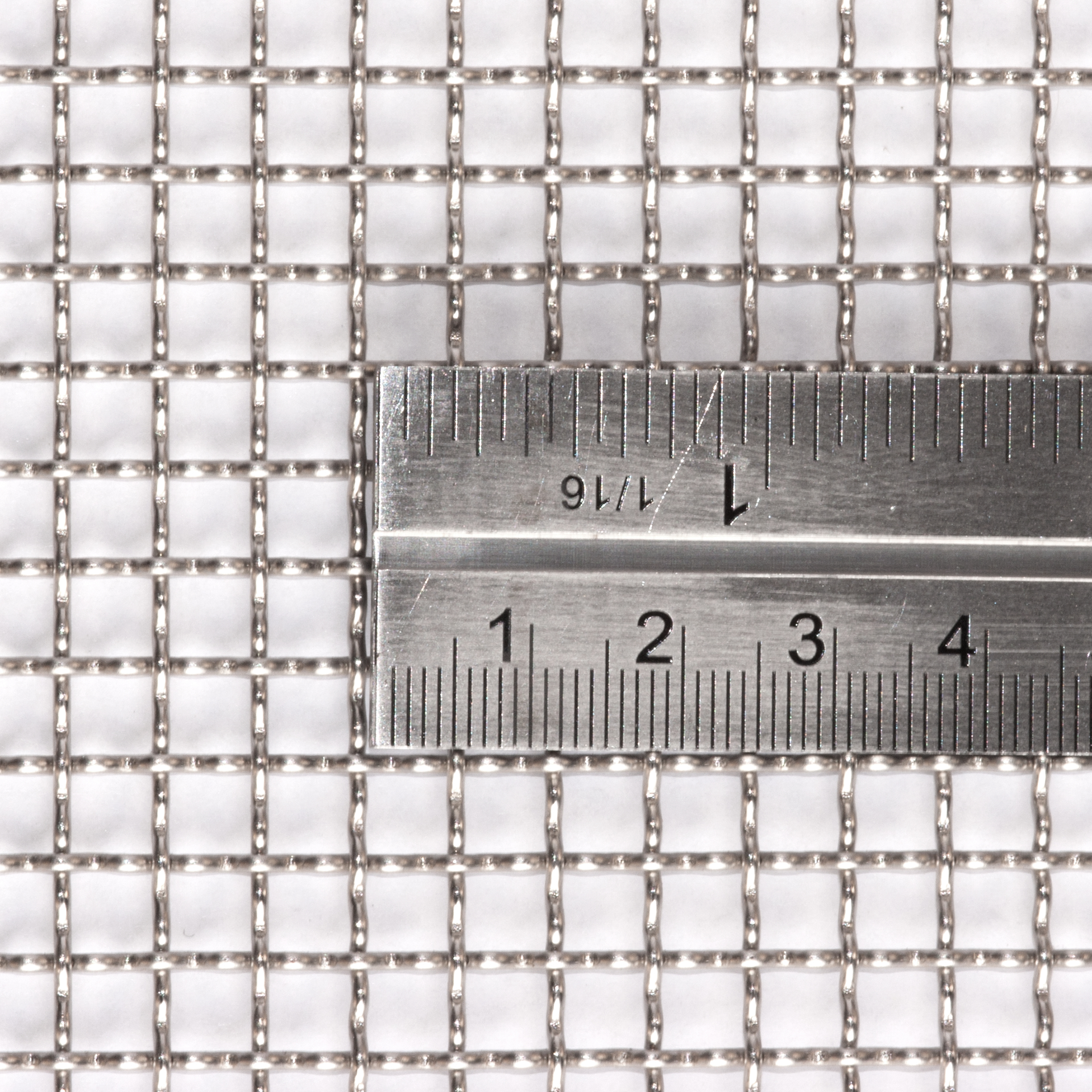 Stainless Steel Woven Wire Mesh 30cm Square Sheet Fine