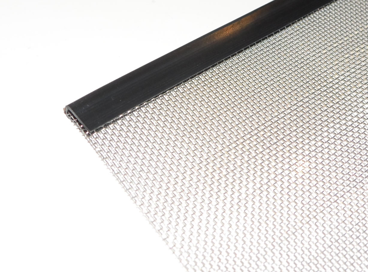 Flexible Edge Trim Woven Wire Mesh Edging White Or